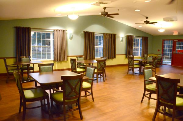 Excellent dining for senior residents