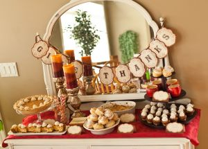 Thanksgiving Dessert Bar