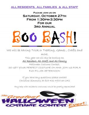 3rd Annual Boo Bash